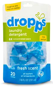 fresh scent Dropps Laundry Detergent Sale At Publix + One Reader Gets A Year Supply FREE!