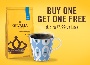 298x217 hero gevalia.165120 Publix Coupon   BOGO Gevalia Coupon
