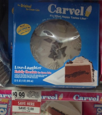 carvel cake Carvel Cakes   Nice Deals At Publix