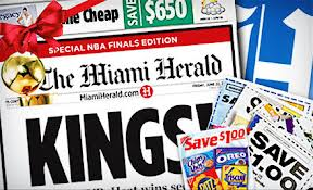 miami herald Miami Herald 12 Month Sunday Subscription $9