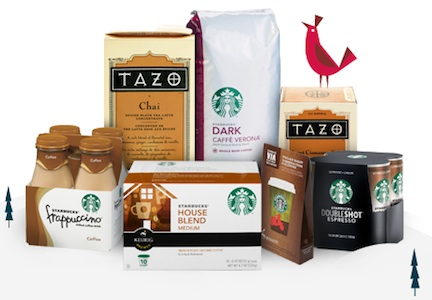 starbucks rebate Starbucks Rebate   $5 Gift Card With Purchase Of 3 Products