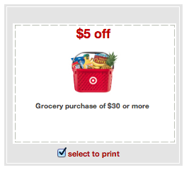 Screen Shot 2012 12 16 at 9.46.57 AM Target Coupon   $5 Off A $30 Grocery Purchase!