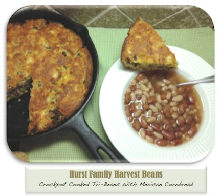 hurst tri bean Hurst Family Harvest Tri Bean Soup Recipe & More Giveaways!