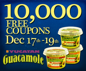 midnight mission blogger image Yucatan Guacamole   Free Product Coupon If You Hurry