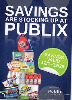 publix savings sare stocking up copy Savings Are Stocking Up   Publix Coupon Valid Through 12/28