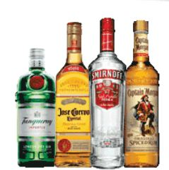 Captain morgan rum Printable Liquor Coupon (Captain Morgan, Jose Ceurvo, Smirnoff & Tanqueray)