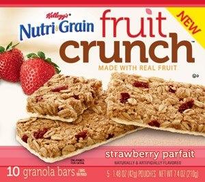 KelloggsNutriGrainFruitCrunchGranolaBarsStrawberryParfait_31274 copy