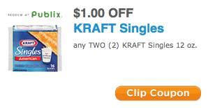 New Publix Coupon Save On Kraft Singles on oscar mayer bacon coupon 2013