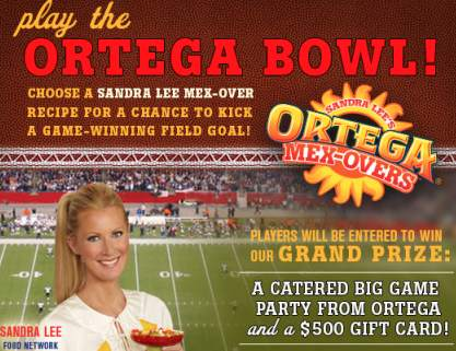 Ortega Bowl Sweepstakes and Instant Win Game Roundup