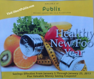 Publix yellow adv jan 13 Yellow Advantage Buy Flyer Healthy New Food Year (1/5 to 1/25)
