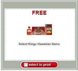 free kings hawaiian coupon Target Printable Coupon   Lunch At A Discount
