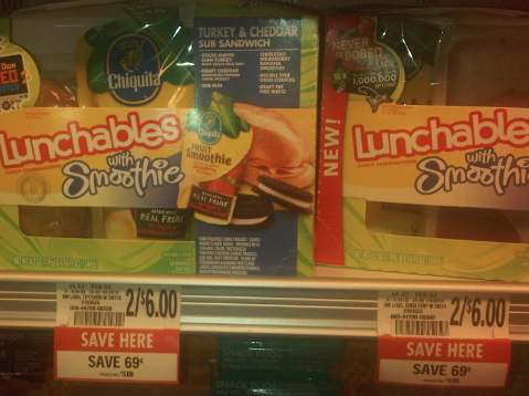 lunchables Lunchables With Smoothie Just $1 After Publix Coupon
