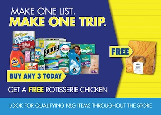 publix chicken copy 2 P&G Make One List Make One Trip Promo Is Back + Publix Gift Card Giveaway!