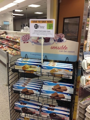 weight watchers copy Weight Watchers Baked Goods BOGO At Publix