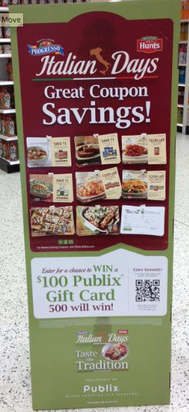 Italian Days In Store Publix Italian Days Coupons (valid 2/11 to 3/1)