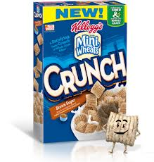 Nice Deal On Kelloggs Frosted Mini Wheats Crunch