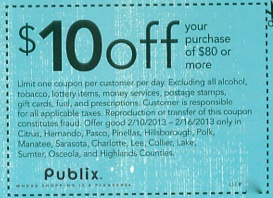 publix coupon Sunday Coupon Preview For 2/10  $10 Publix Coupon For Some