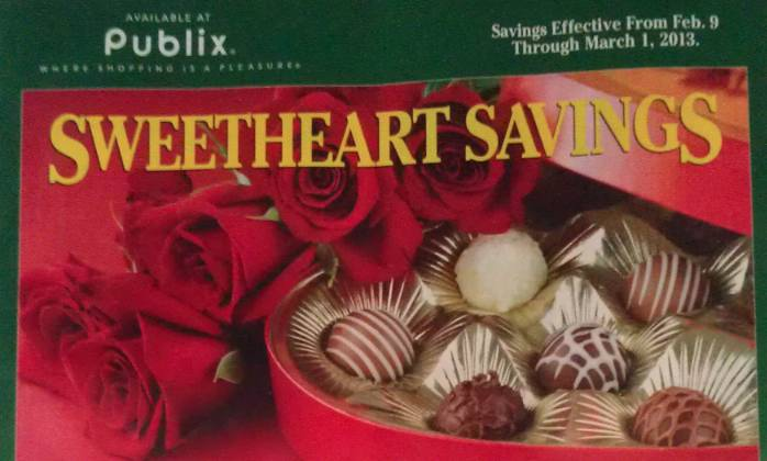 publix green flyer feb Green Advantage Buy Flyer Sweetheart Savings (2/9 to 3/1)