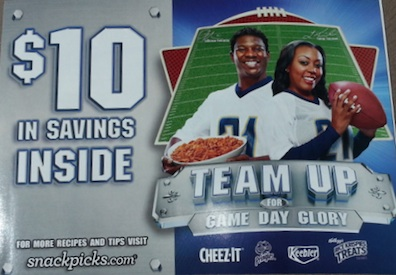snackpicks booklet Team Up For Game Day Glory Booklet