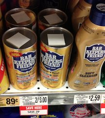 bar keepers Publix Deals From My Trip Today