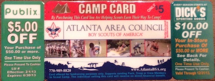 boy scouts camp card Publix Coupon On Boy Scouts Camp Cards