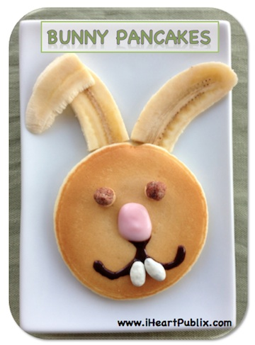 bunny pancakes Easter Breakfast Ideas For The Kids