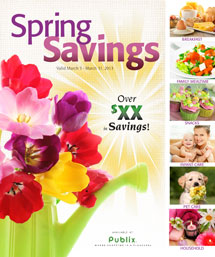 cover img Spring Savings Booklet Coupons Available To Print