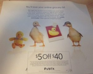 publix coupon fl 300x240 Publix Coupon For Some In 3/17 Newspaper   $5/$40