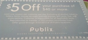 publix coupon3 300x136 Publix Coupon In The Atlanta Journal Constitution