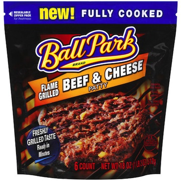ball park grilled Ball Park Beef Patties   Zero To Juicy In About 60 Seconds