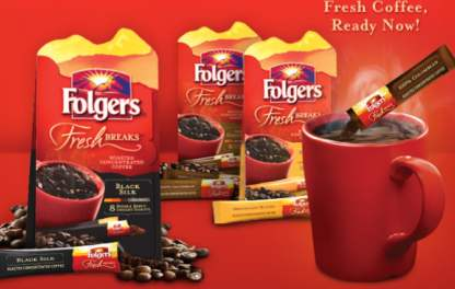 folgers Free Sample Roundup For 4/12