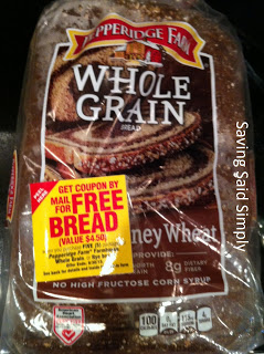 photo Free Pepperidge Farm Bread With Rebate (BOGO At Publix)