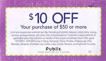Do publix digital coupons double