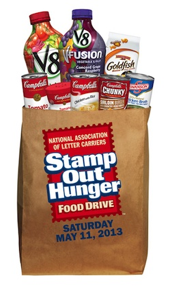 stamp out hunger 2013 Get Your Donations Ready   Stamp Out Hunger Is This Saturday (5/11/13)