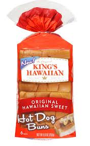 kings-hawaiian hot dog