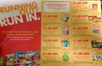 running out run in New Running Out? Run In Coupon Sheet With Publix Coupons