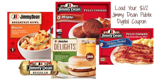 jimmy dean publix1 Reminder To Load Your Jimmy Dean Publix Digital Coupon