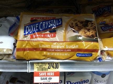 Dixie Crystals Sugars