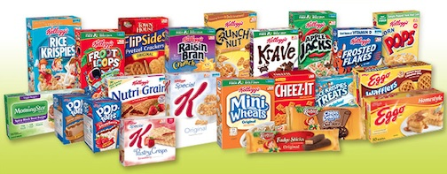 kelloggs products New Favorites From Kellogg's® Available At Publix   Share Your Rebate Scenario