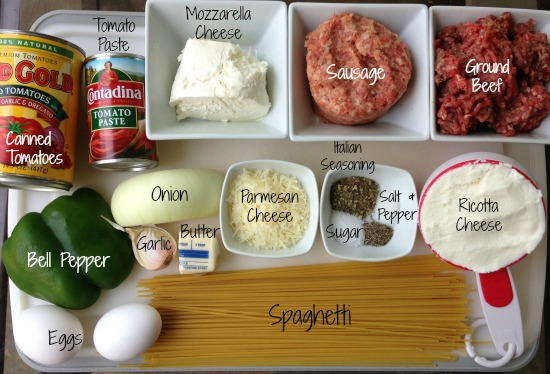 spaghetti pie ingredients1 Publix Super Meals   Spaghetti Pie