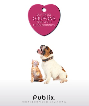 "cuddlebunny booklet ""Clip These Coupons For Your Cuddlebunnies"" Publix Coupons Available To Print"
