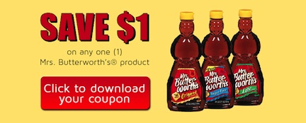 mrs butterworth Mrs Butterworths Coupon Available To Print