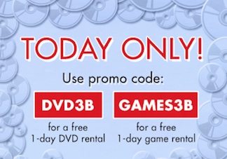 redbox 8 1 Free Redbox Codes Valid Today Only   Free DVD & Free Game Code