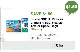 Ziploc E Bags Publix Digital Coupon Is Back