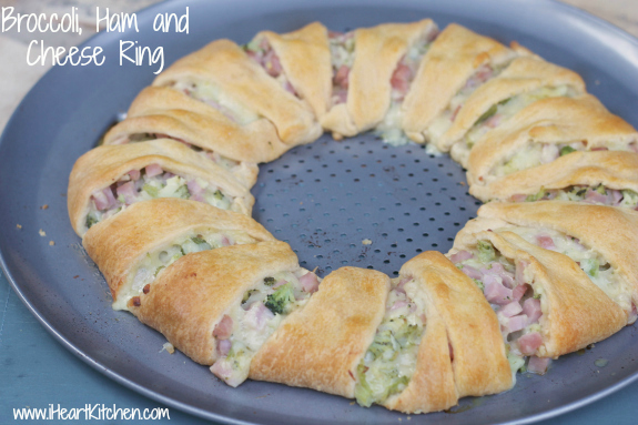 Broccoli-Ham-Cheese-Ring