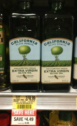 California Olive Oil Deals At Publix   Great Prices!