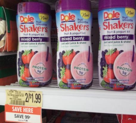 Dole Fruit Smoothie Shakers I Heart Publix