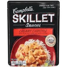 Campbell's Cream Chipotle Skillet Sauce