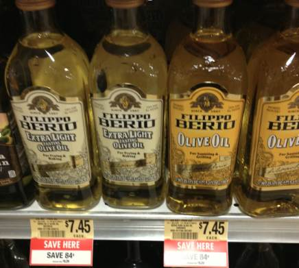 berio Olive Oil Deals At Publix   Great Prices!