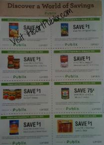 discover a world1 More Publix Coupons   Discover a World of Savings Single Page Flyer
